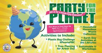 Party For The Planet River Trail Clean Up