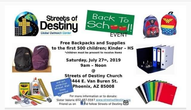 By Photo Congress || Free School Supplies Near Me Today
